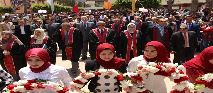 Graduation of Class 39 from Tanta Faculty of Pharmacy