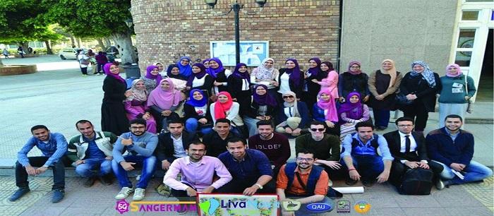 معرض فريق HCV fighters صيادلة ضد فيروس سي العلمى LivaNova بكلية صيدلة جامعة الاسكندرية