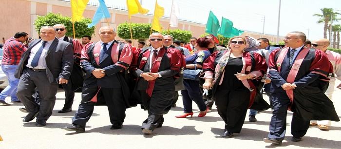 رياضية طنطا تحتفل بتخريج دفعة جديدة من الطلاب