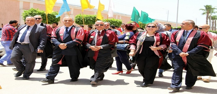 Tanta Faculty of Physical Education Celebrates Graduation of a New Class of Students